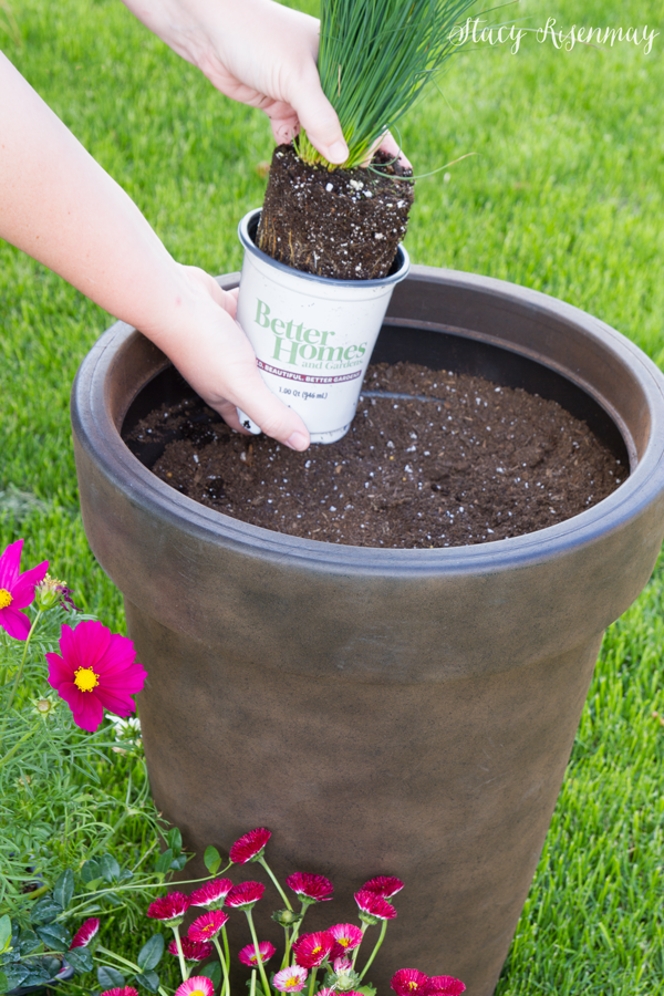 Tips for planting large pots not just a housewife - Better homes and gardens flower pots ...