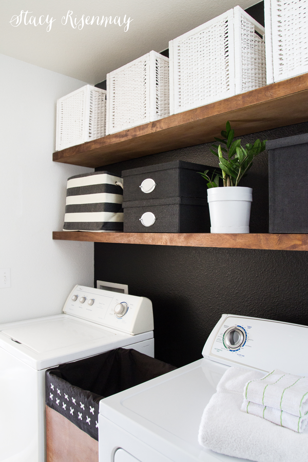 black-and-white-laundry-room