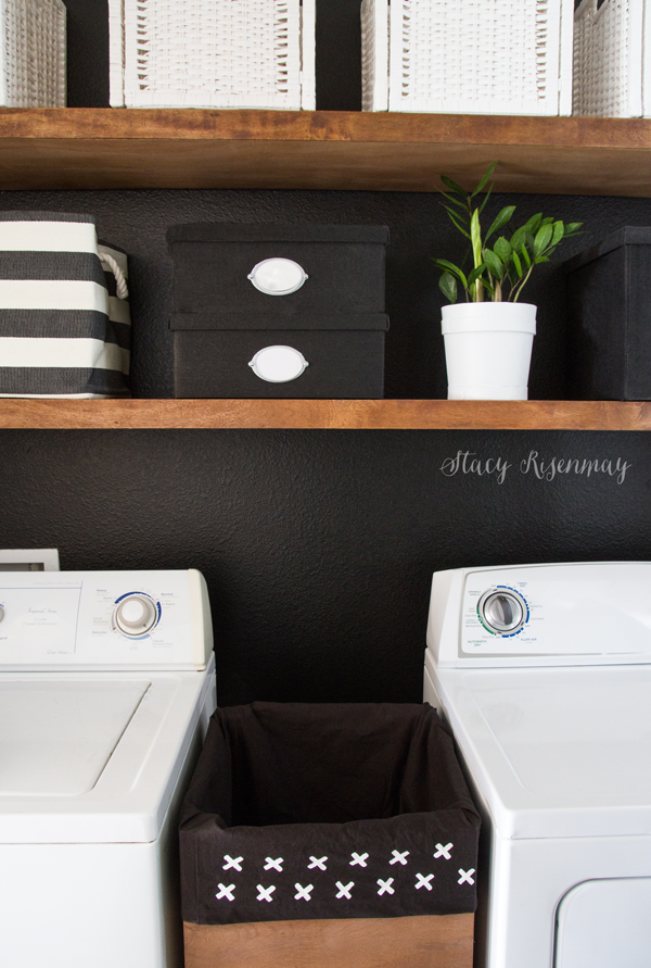 Laundry Room Makeover Not Just A Housewife