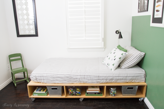 How to make this modern industrial bed!