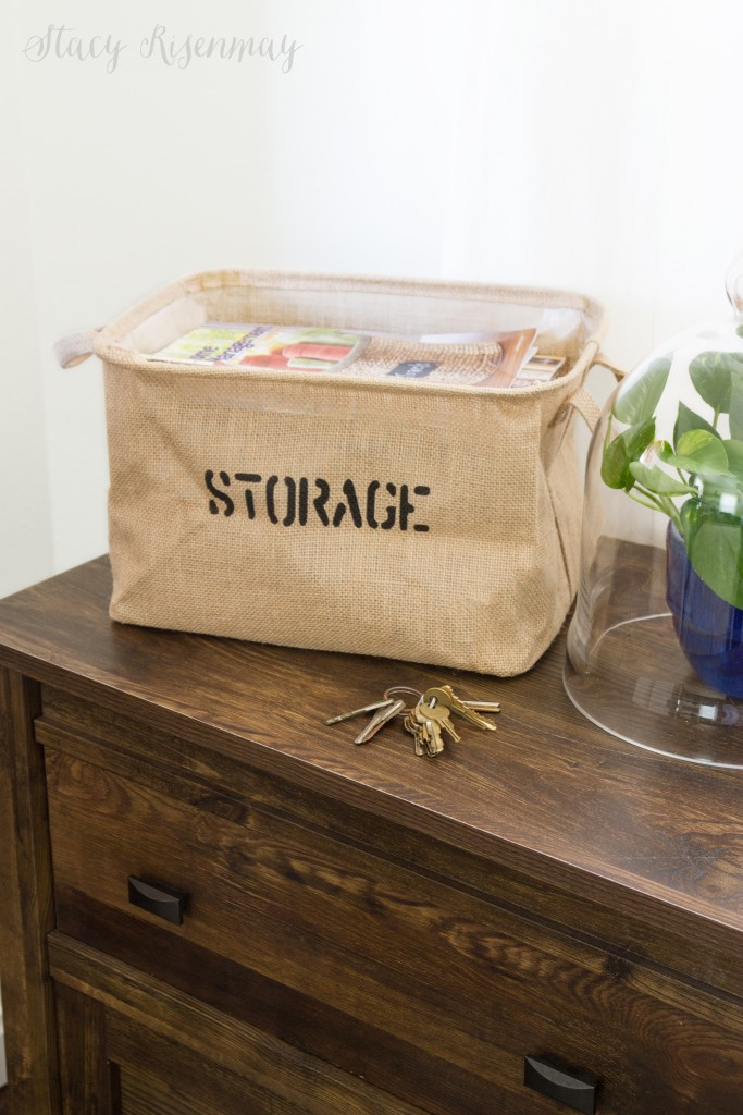 eco friendly storage tote