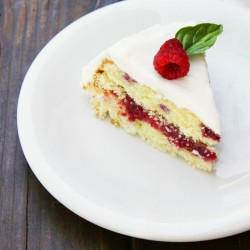 raspberry cake featured image