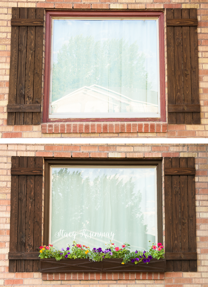 window before and after