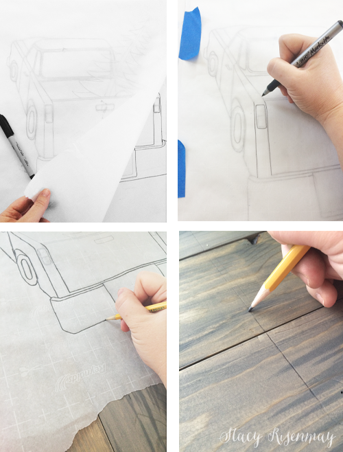 tracing-image-onto-sign