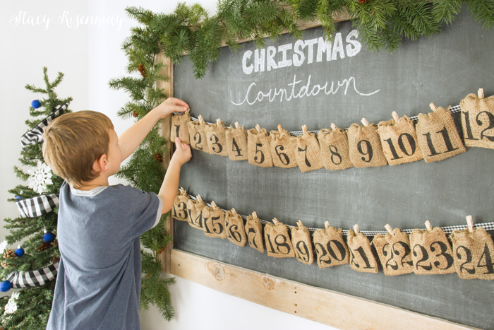 candy advent calendar for kids