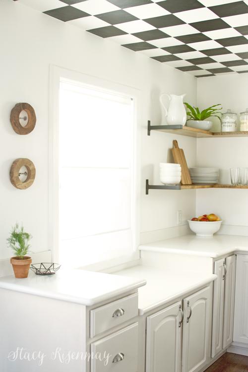 neutral kitchen - I love that little geometric bowl!