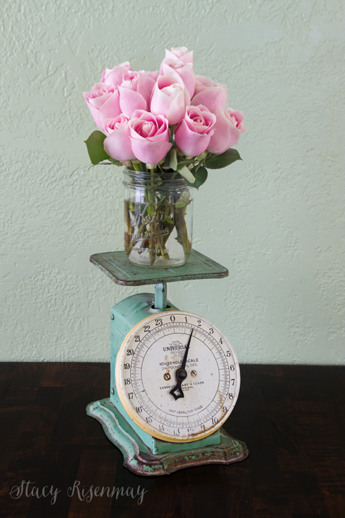 roses-on-antique-scale