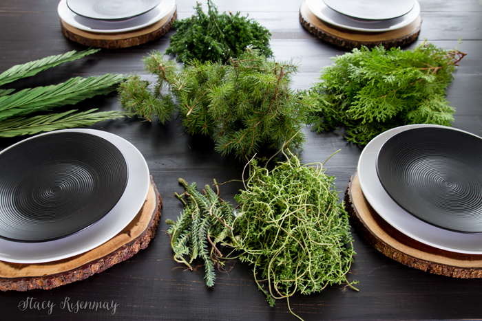 greenery-for-centerpiece
