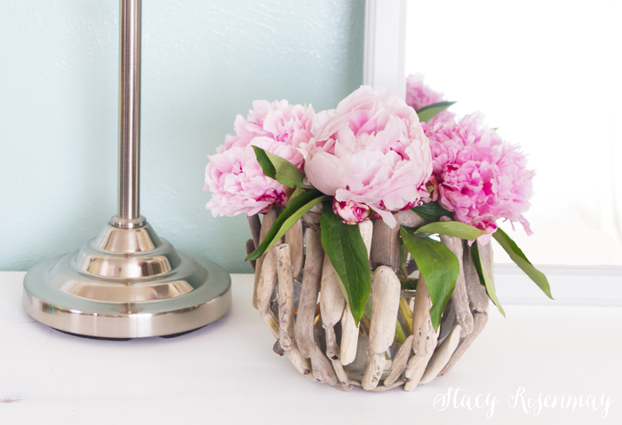 DIY driftwood vase tutorial