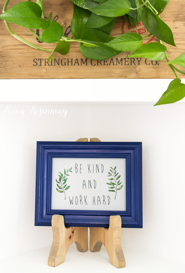 DIY Wood Table Top Easel