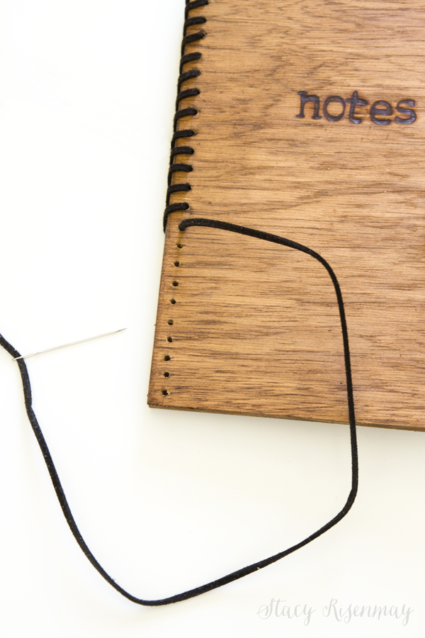 DIY Wood Notebook