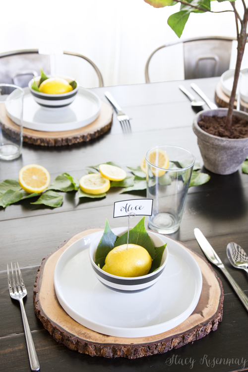 lemon-place-setting