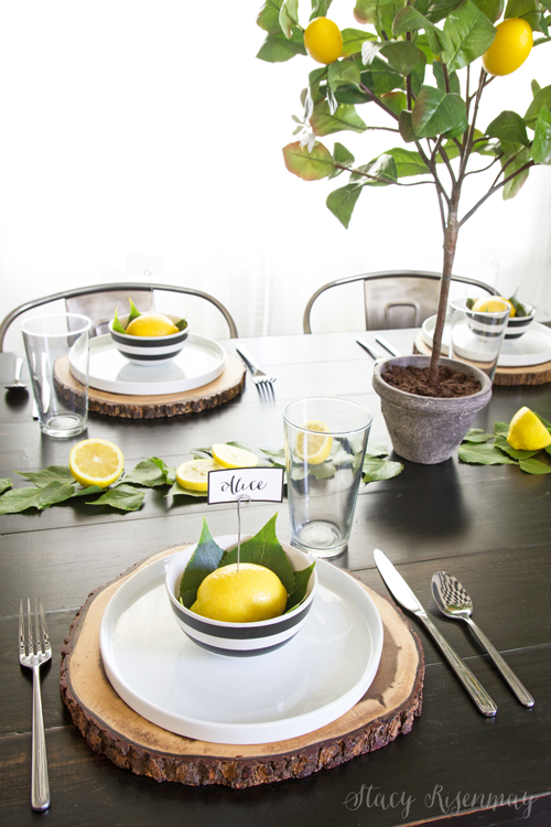 lemon-table-setting