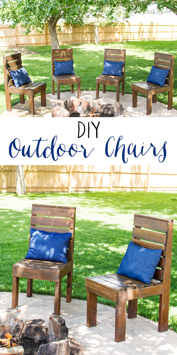 Easy DIY Outdoor Chairs - Stacy Risenmay