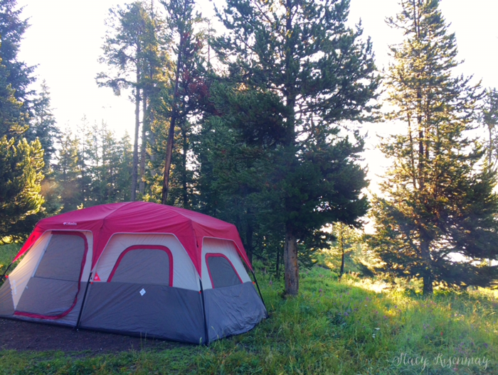 camping-at-yellowstone