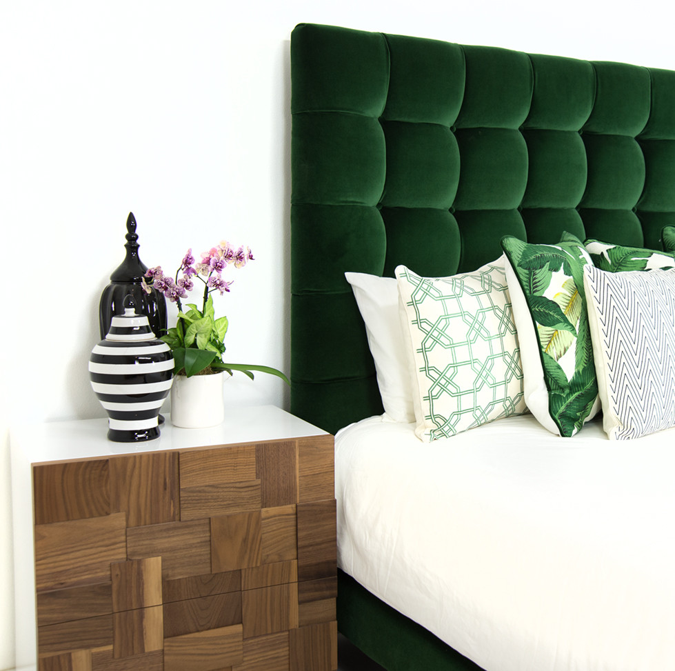 Crushing on velvet stacy risenmay for Bedroom ideas olive green
