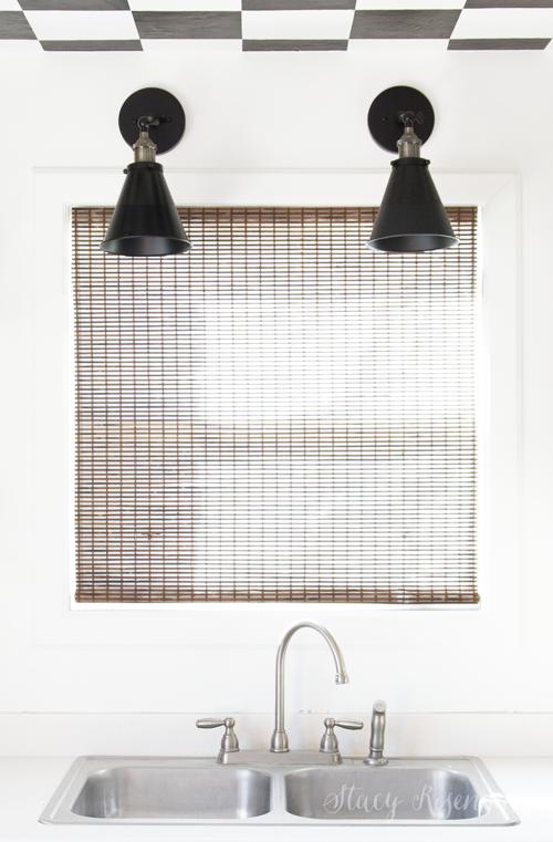 natural blinds with transpaprent backing