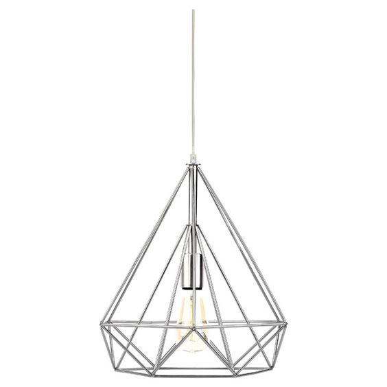 chrome geometric light