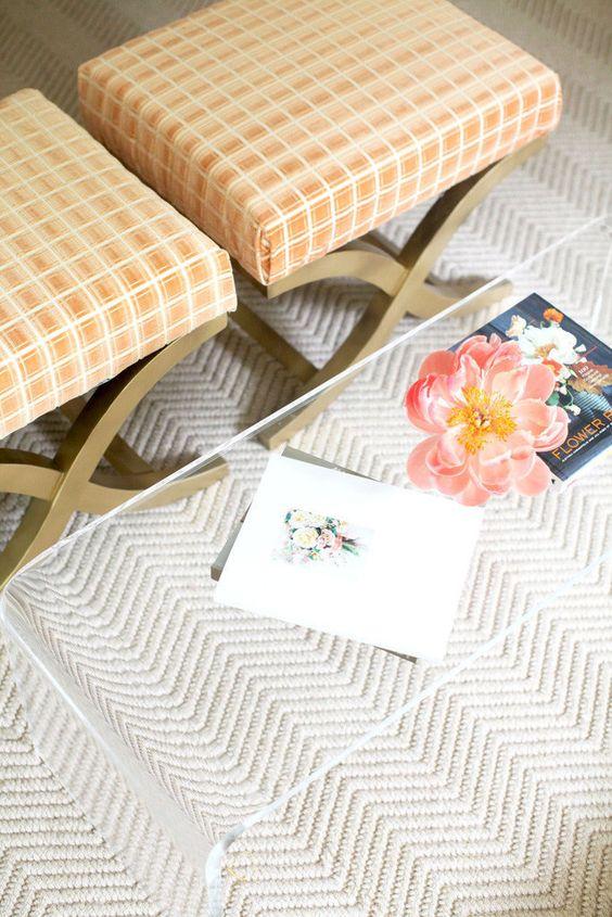 Herringbone rug