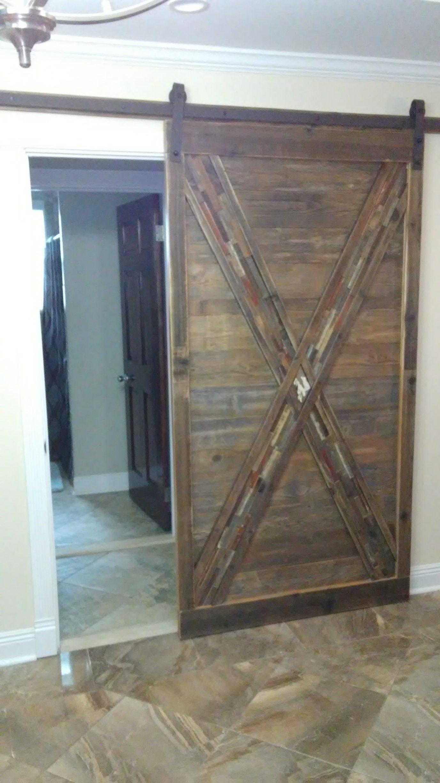 Sliding Barn Door From Reclaimed Wood Stacy Risenmay
