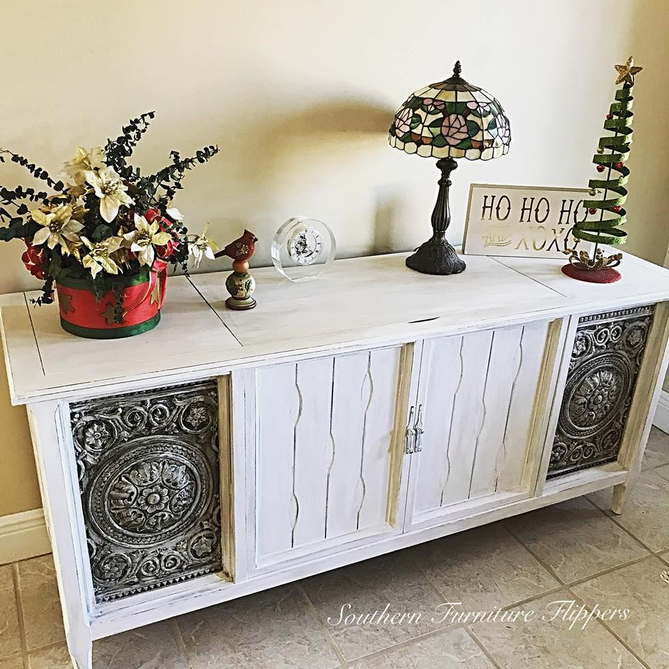 Repurposed Stereo Cabinet Stacy Risenmay