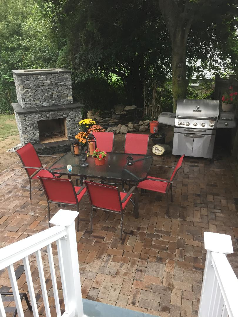 Diy Outdoor Fireplace Stacy Risenmay