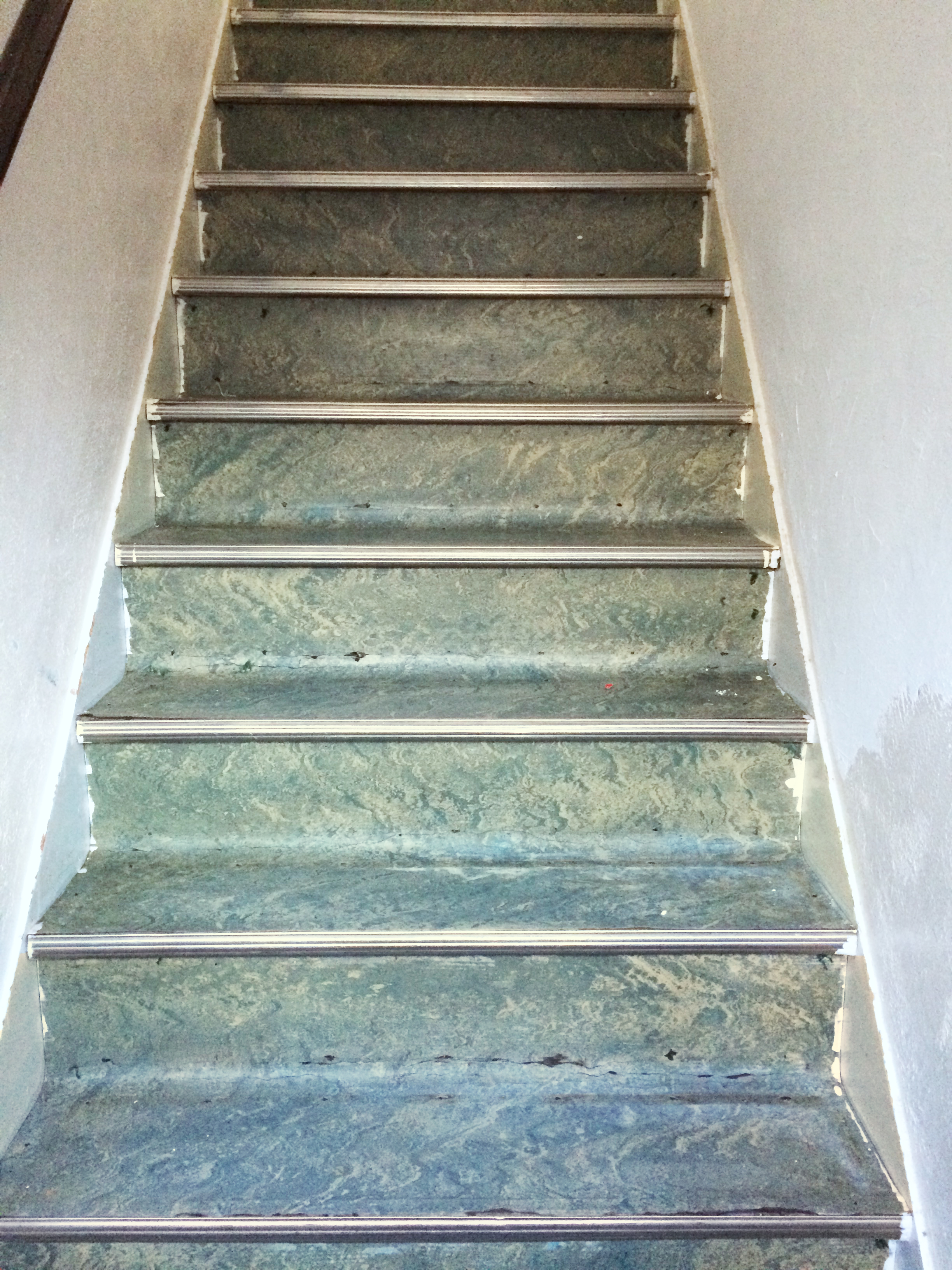 High Quality Vinyl Stairs