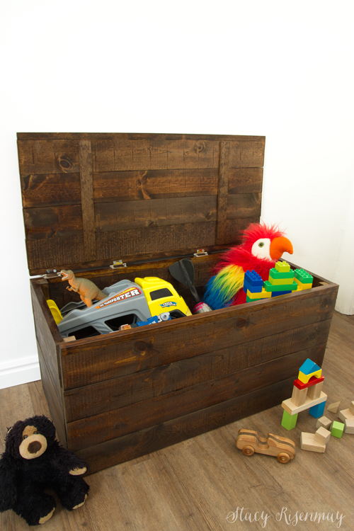 Easy To Build Toy Box Crate Stacy Risenmay