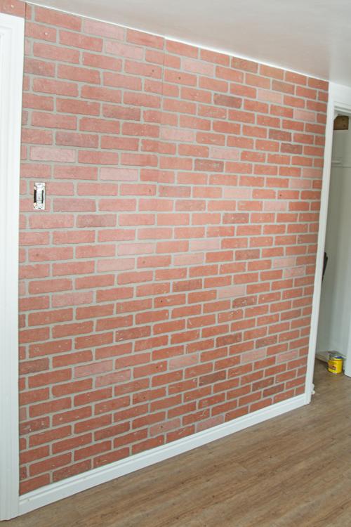 Faux Brick Wall Stacy Risenmay