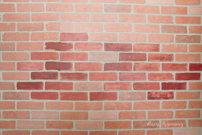 Faux Brick Wall - Stacy Risenmay