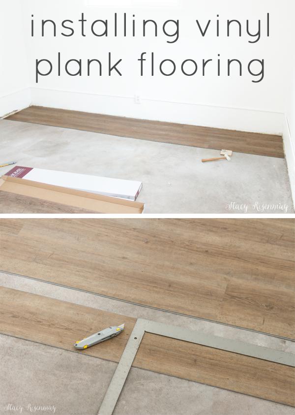 installing vinyl plank floors