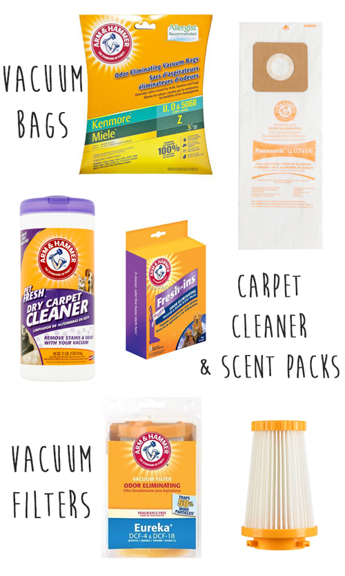 arm and hammer vacuum products