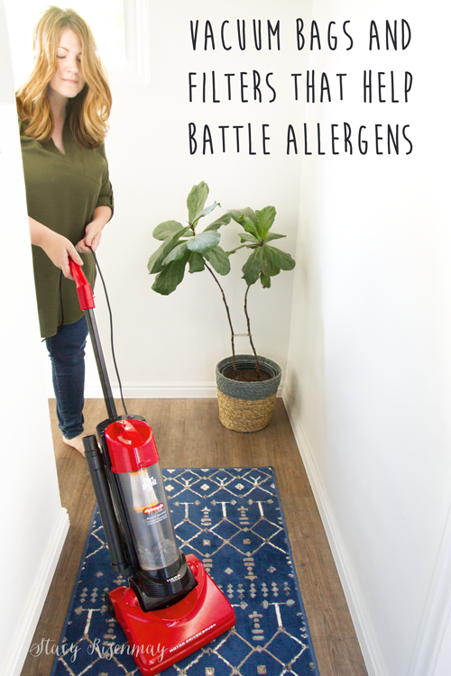 Vacuum bags and filters that help battle allergens