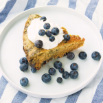 Dutch Oven Lemon Blueberry Cake
