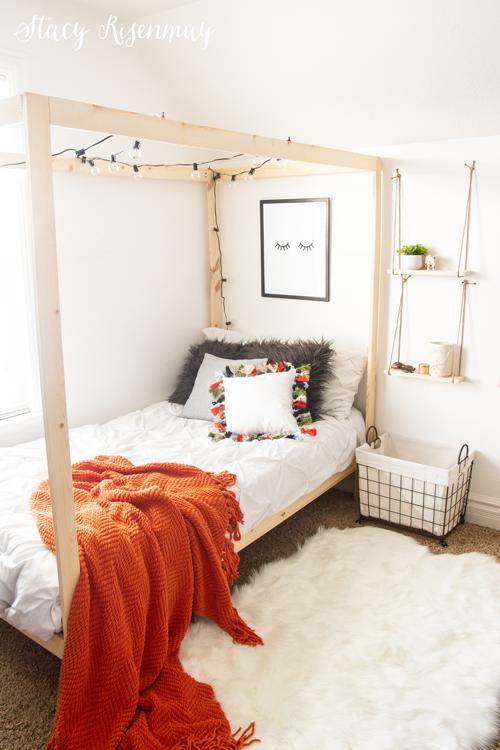 boho room for teen girl