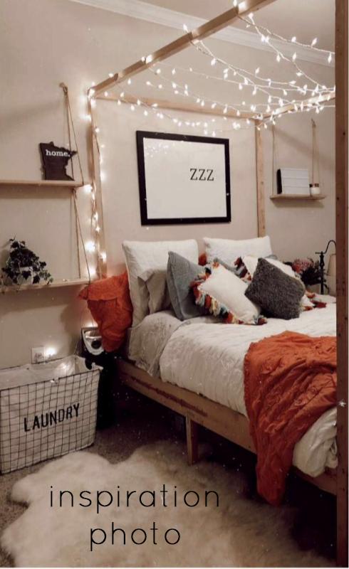 inspiration image for boho bedroom