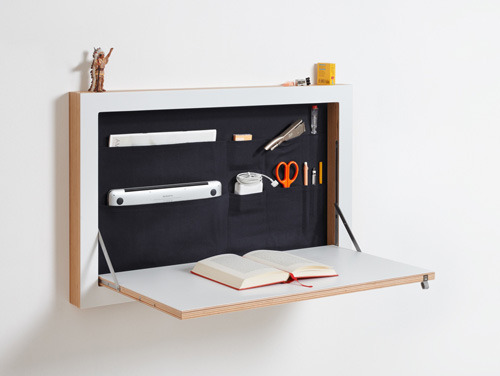cabinet that turns into desk