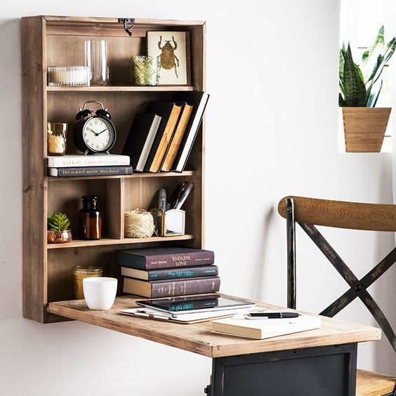 Cabinet that turns into table