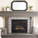 Fireplace Makeover {Giveaway!}