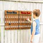DIY Outdoor Scoreboard