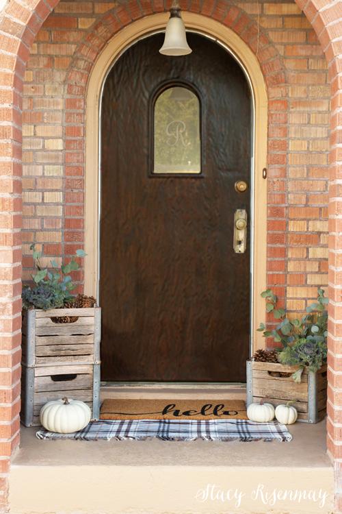 fall decor for porch