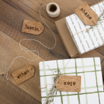 Reusable Wood Gift Tags