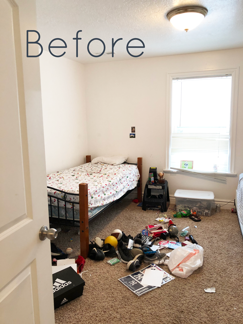 Teen Bedroom Makeover On A Budget Stacy Risenmay