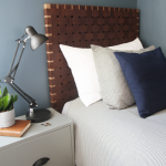 Woven Leather Headboards