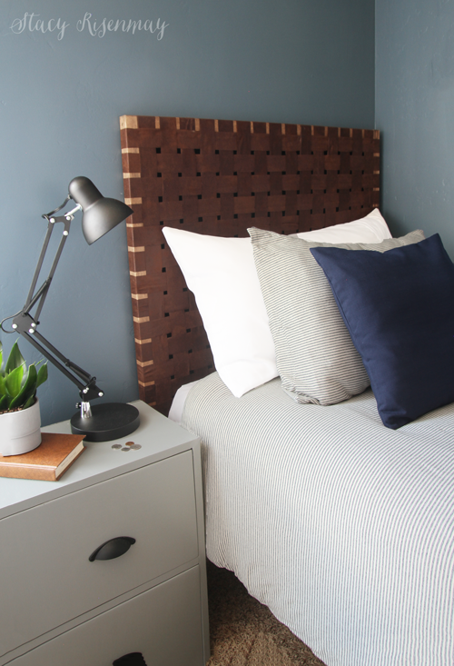 Woven Leather Headboards Stacy Risenmay