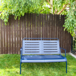 Tips For Painting Metal {Garden Bench Makeover + GIVEAWAY}