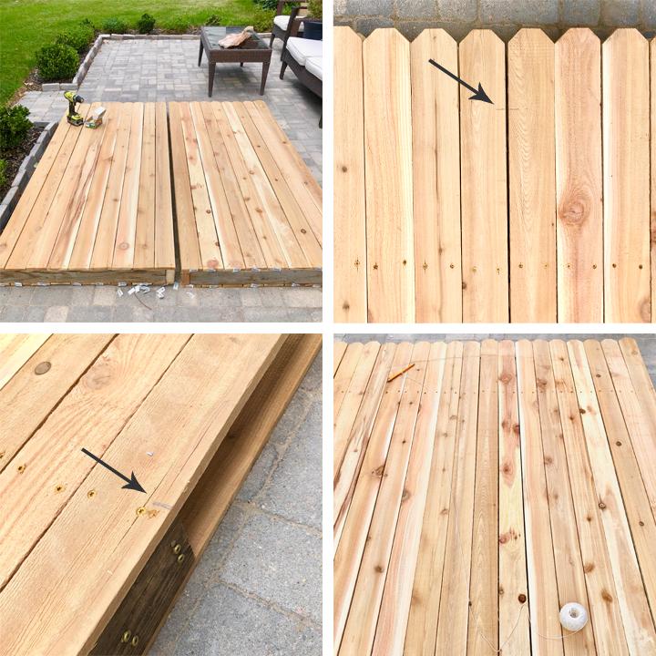 building a backyard gate