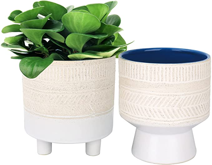 pedestal & footed planters