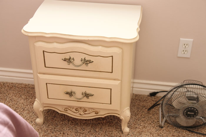 old side table that will get painted